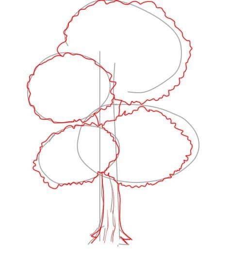Aprender A Desenhar árvores E Arbustos